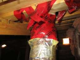 Mechanical Assemblies Secured With Sealing Tape